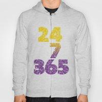 24-7/365 (Purple hustle) Hoody