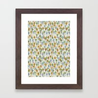 64 Popular People And A … Framed Art Print