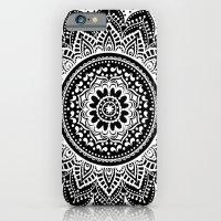 mandala iPhone & iPod Cases featuring mandala by haroulita