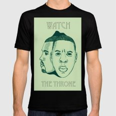 Watch The Throne II SMALL Mens Fitted Tee Black