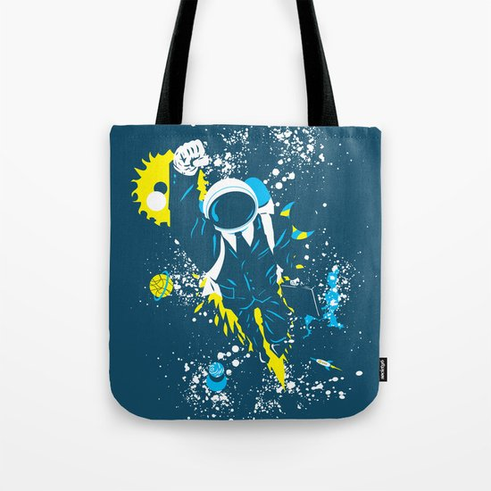 space suit Tote Bag
