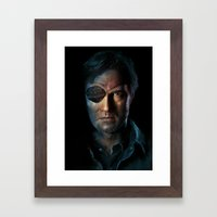 The Walking Dead - The G… Framed Art Print
