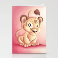 Lena Lioness Stationery Cards