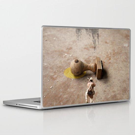 Kill Bureaucracy Laptop & iPad Skin