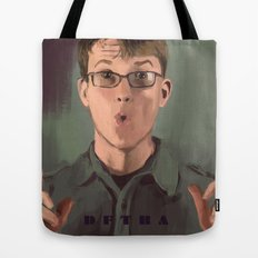 Good Morning John Tote Bag
