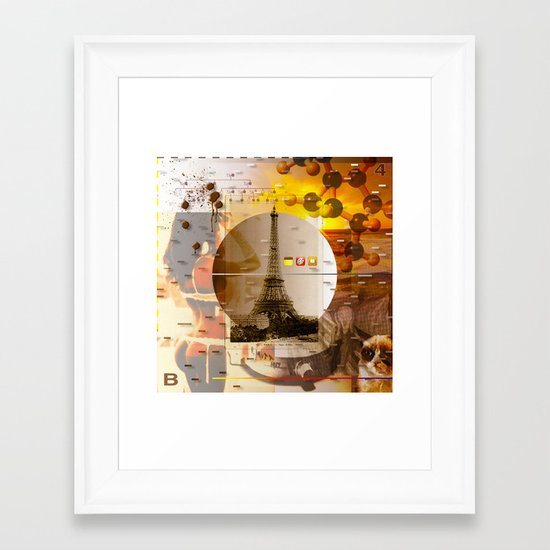 Been There Done That < The NO Series (Brown) Framed Art Print
