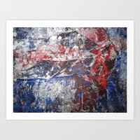SupermanAbstract Art Print