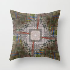 every ebb nudge knows, nary emotion rides ever onward Throw Pillow