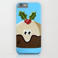 Christmas pudding iPhone 6 Slim Case