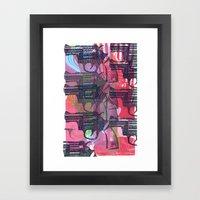 Guns Framed Art Print