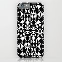 Black and White Square 2 iPhone & iPod Case