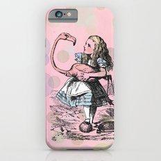 Alice plays Croquet iPhone 6s Slim Case