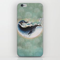 the Blue Whale iPhone & iPod Skin