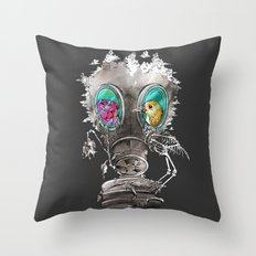 intersection Throw Pillow