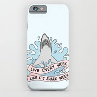 Live every week like it's shark week iPhone 6 Slim Case