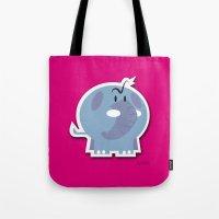 Angry Elefant Tote Bag