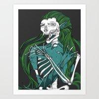 Dead Siren - Hold On Tig… Art Print