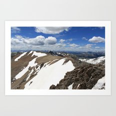 Mt Democrat Art Print