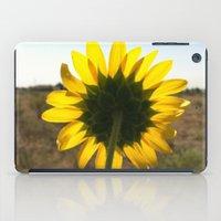 Light through the Sunflower iPad Case