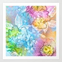 Breezes  Art Print