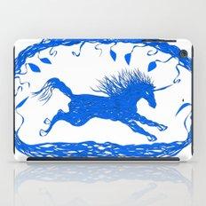 Blue Unicorn 02 iPad Case