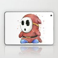 Shy Guy Laptop & iPad Skin
