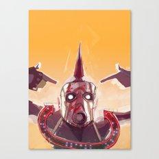 Borderlands - Face McShooty Canvas Print