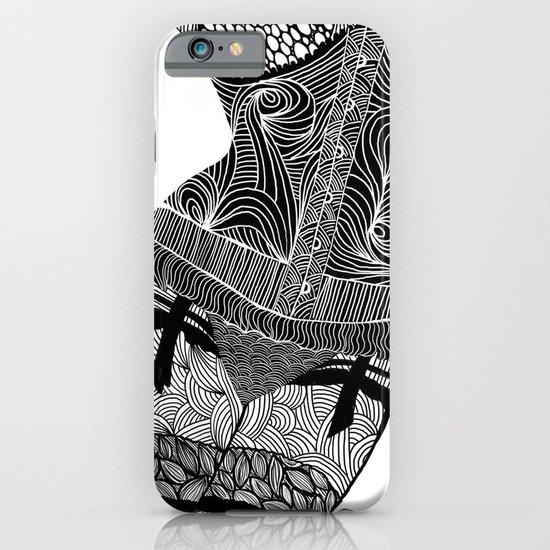 La femme 01 iPhone & iPod Case