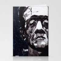 Frankenstein's Monnster Stationery Cards