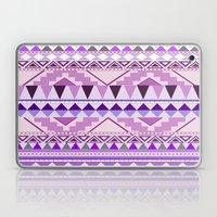 Aztec; Purple Dreams Laptop & iPad Skin