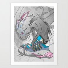 Sneaker Monster Art Print