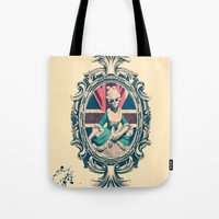 Bourgeoisie Woman Tote Bag