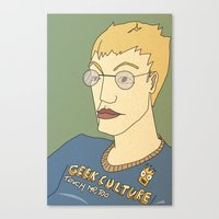 Geek Culture / Touch Me,… Canvas Print