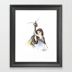 My Mantis Friend Framed Art Print