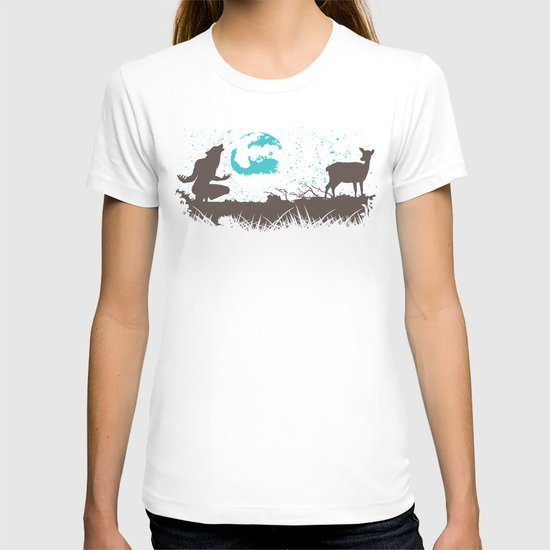The Werewolf of Saddle Creek T-shirt