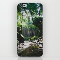 Streams of Light iPhone & iPod Skin