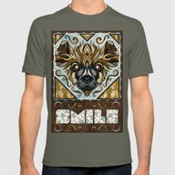 Smile Mens Fitted Tee Lieutenant SMALL
