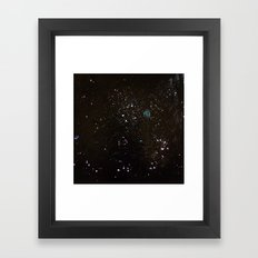 Southern Constellations (Process) Framed Art Print