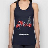 Transformers - Optimus Prime Unisex Tank Top