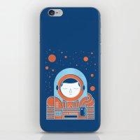 Orange Space iPhone & iPod Skin