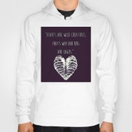 Hearts Are Wild Creature… Hoody