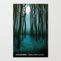 Transfigured Night - Ver… Canvas Print