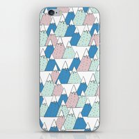WINTER MOUNTAIN iPhone & iPod Skin