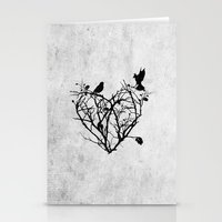 Under Construction (blac… Stationery Cards