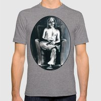 The Clown Who Wasn't Funny Mens Fitted Tee Tri-Grey SMALL