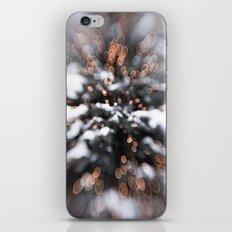 Christmas lights iPhone & iPod Skin