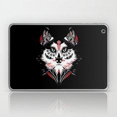 American Indian wolf Laptop & iPad Skin