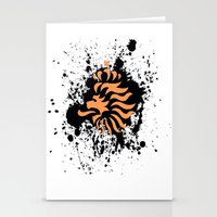 knvb royal lion Stationery Cards
