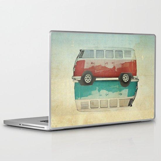 VW Kombi Ying and Yang Laptop & iPad Skin