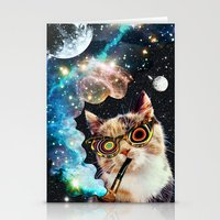 High Cat Stationery Cards